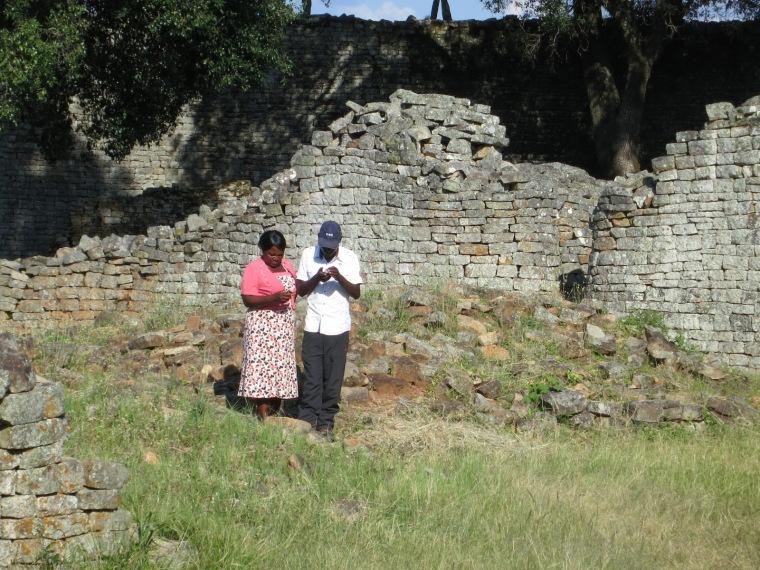 PracticingGPSatGreatZimbabwe